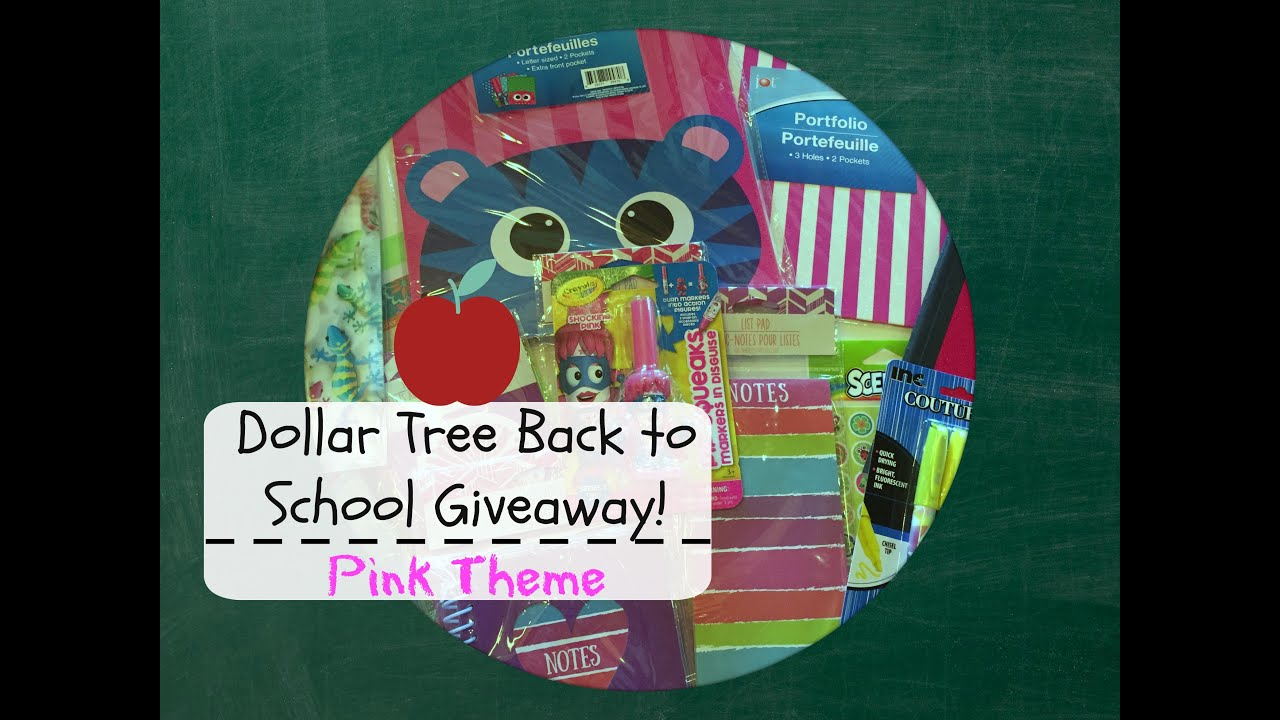 Wand Tv Closings Dollar Tree Back To School Giveaway Pink Theme Closed