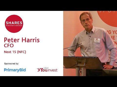 Peter Harris, CFO - Next 15 (NFC)