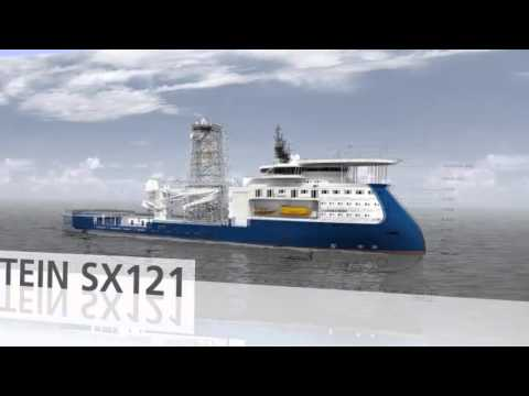 ULSTEIN X-BOW vessel concept