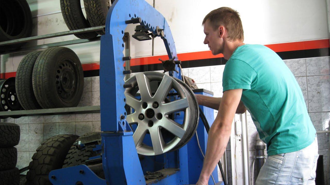 Ремонт автомобильных дисков в Бресте