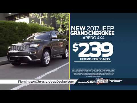 2017 Jeep Grand Cherokee $239/mo | 0% Financing | Flemington Chrysler Jeep Dodge RAM | 08822