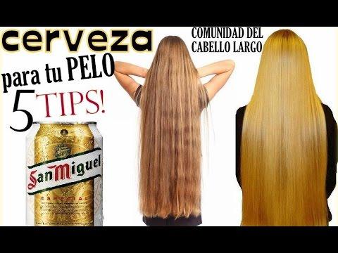 Cerveza para el cabello receta