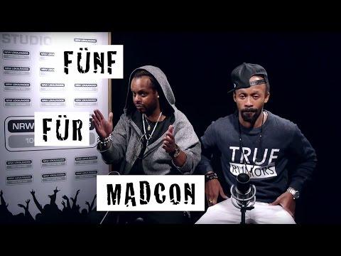 Fünf für Madcon - das Interview ohne Fragen