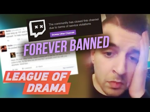 Gross Gore BANNED PERMANENTLY from Twitch - Full Story Broken Down #LeagueOfDrama