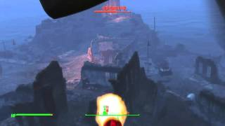 Fallout 4. killing behemoth. big creature #2