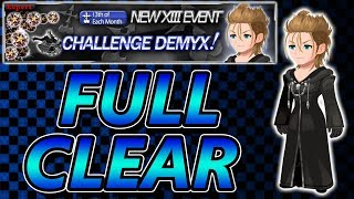 Demyx+ Event (Stream) ~ KH Union χ[Cross]