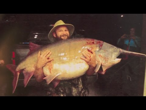 Missouri Record Fish Stories - Paddlefish