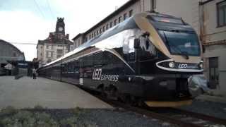 LEO Express - Praha hlavní nádraží + konflikt při odjezdu