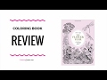 🌻The Flower Year: A Coloring Book -  Coloring Book Review - Leila Duly