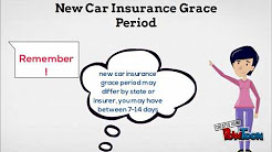 New Car Insurance Grace Period