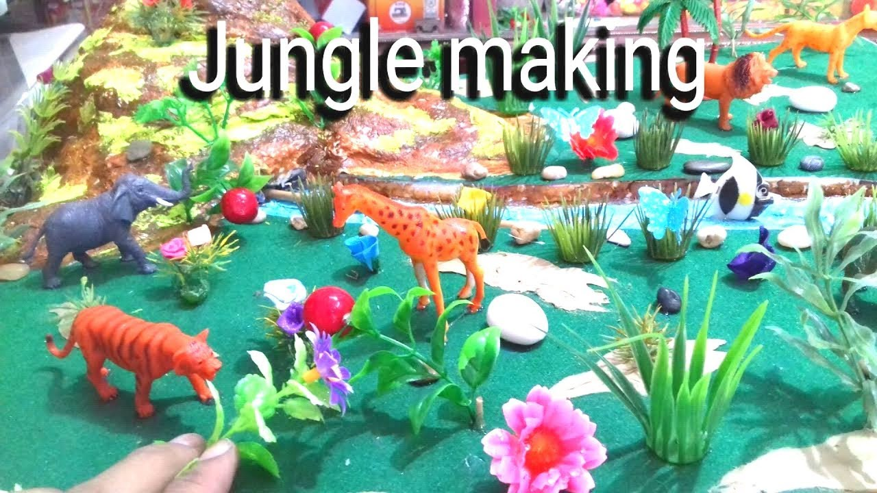 How To Make Jungle A Visit To A Zoo Wildlife Model Jungle