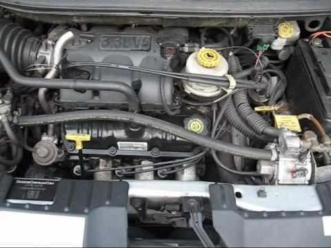 Chrysler Voyager 3 3 V6 Deluxe Youtube