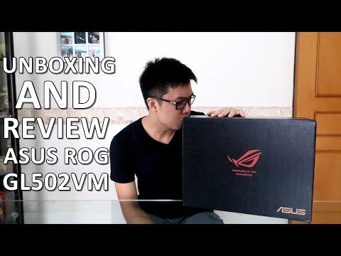 UNBOXING + REVIEW LAPTOP CANGGIH YANG SUPER RINGAN! (ASUS ROG GL502VM)