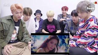 BTS reaction to blackpink lovesick girls💖