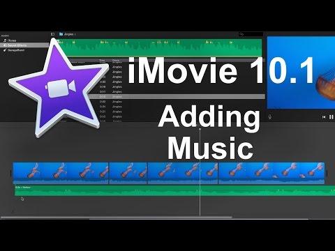 iMovie 101 2016   How to Add Music Beginner