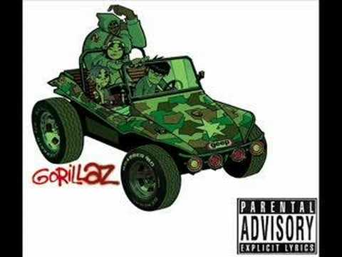 Gorillaz-Man Research