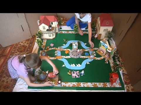 Игровое поле Город для Sylvanian families от www.mamau.ru