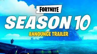 SAISON 10 ANNONCELAUNE BANDE-ANNONCE! Fortnite EPIC GAMES BATTLE PASS CINEMATIC TRAILER - France SAISON OFFICIELLE 10