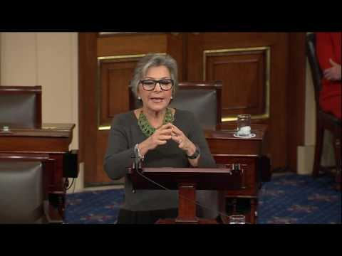 Senator Boxer Delivers Farewell Speech