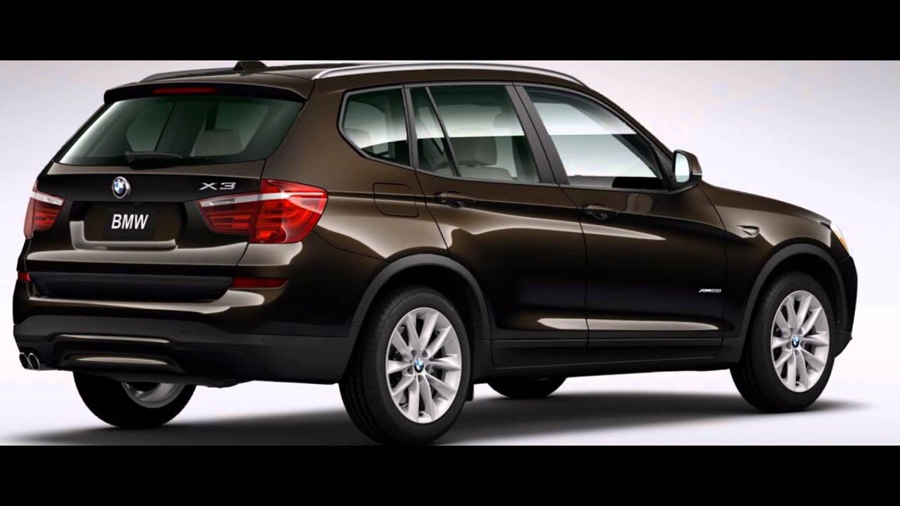 2016 Bmw X3 Sparkling Brown Metallic Youtube