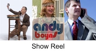 Andy Boyns - Showreel 2015