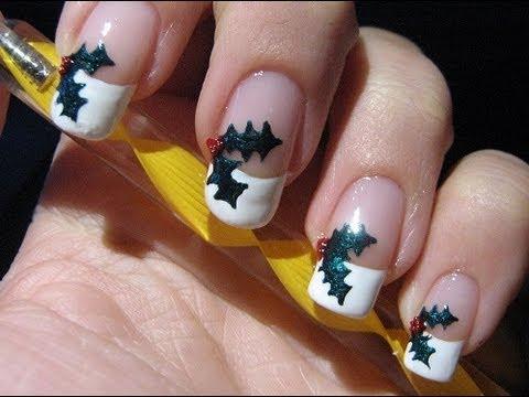 Nail Art Mistletoe Vischio Youtube