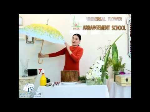 สอนจัดดอกไม้สด ด้วยดอกไม้ประจำชาติอาเซียน Asean
