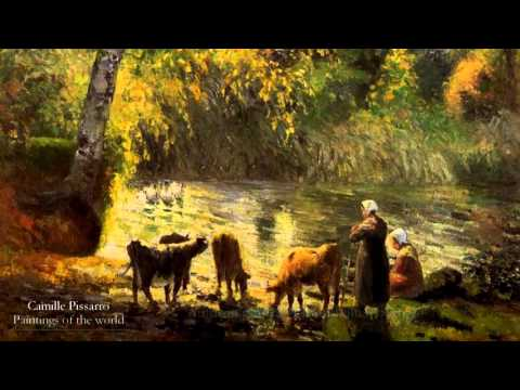 Paintings of the World - Camille Pissarro - Part 1