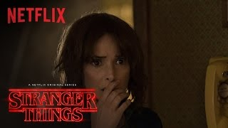 Stranger Things | Winona Ryder Featurette [HD] | Netflix