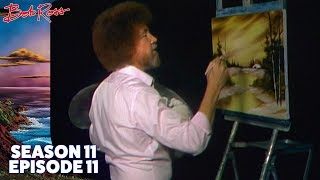 Bob Ross - Golden Glow (Season 11 Episode 11)