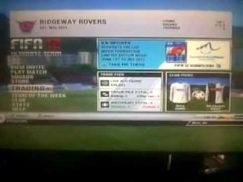 fifa 12 UT - there was an error creating your game session - how to stop this from coming up