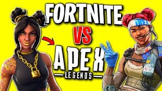 Fortnite vs Apex Legends - Which do YOU think is better? (Apex has 50,000,000 PLAYERS!)