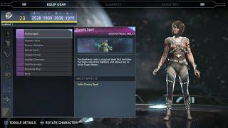 Injustice 2 - Enchantress  All Unlockable Abilities