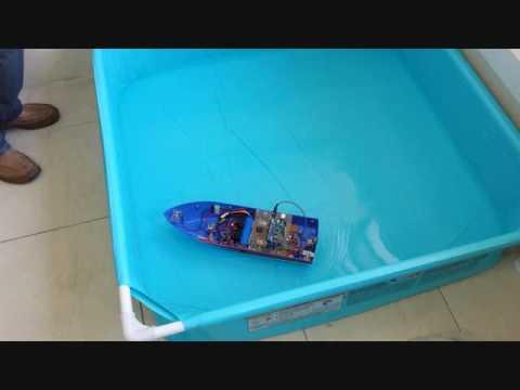 Automatic Vessel Positioning System via IR Proximity Sensors