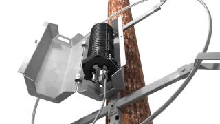COYOTE® Dome Closure Cable Restraint Bracket (CRB) System for OPGW