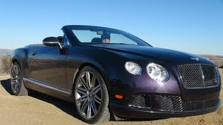 Bentley Continental GT Speed Convertible 2015 Videos