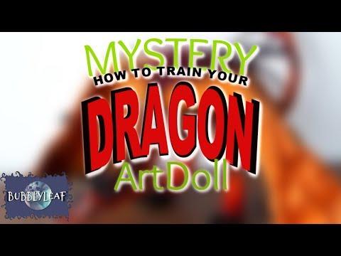 Mystery How To Train Your  Dragon ArtDoll || ArtDoll Tutorial