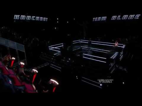 The voice grant ganzer knockout