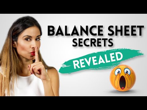 How The Balance Sheet Works | With A FUN Demo