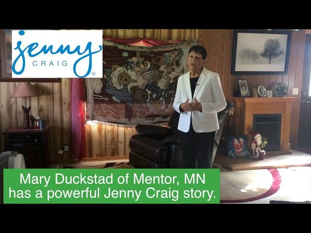 * Mary Duckstad Of Mentor, MN Lost 146 Pounds With Jenny Craig!