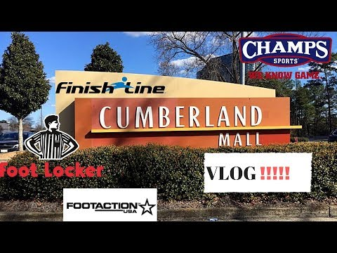 CUMBERLAND MALL VLOG WITH A SURPRISE PICK UP!!!!!!!