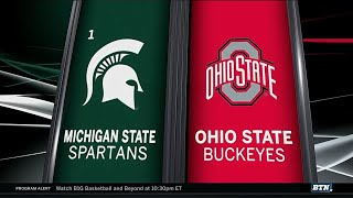Michigan State at Ohio State - Men's Basketball Highlights