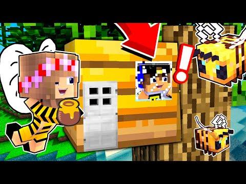 Майнкрафт но Семья ПЧЁЛ Сломанный Мод в Майнкрафте Троллинг Ловушка Minecraft
