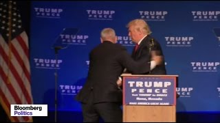 Trump Rushed Off Stage by Secret Service in Nevada