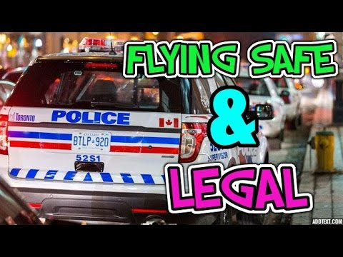 Are you flying that drone legally?
