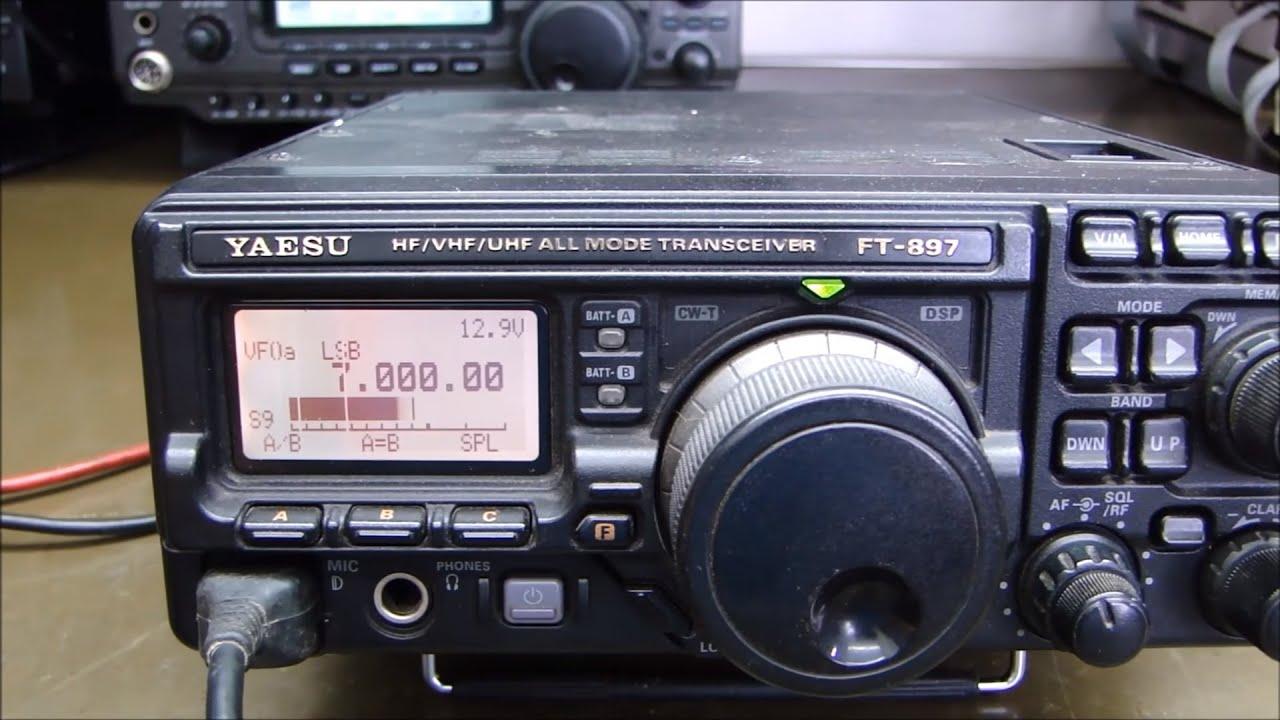 ALPHA TELECOM: YAESU FT-897D TROCA DE DISPLAY, FILTROS e ALINHAMENTO
