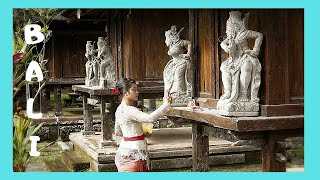 EXPLORING BALI: A graphic walking tour of a BALINESE VILLAGE (INDONESIA)