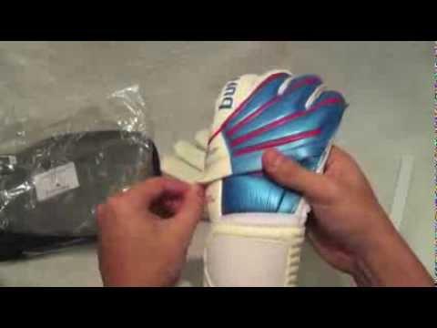 guantes de portero con varilla