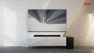 Cinebar Duett – A slim HDMI soundbar with wireless subwoofer
