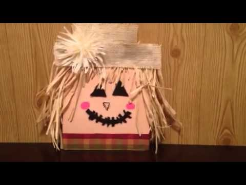 Diy wooden scarecrow simple and easy